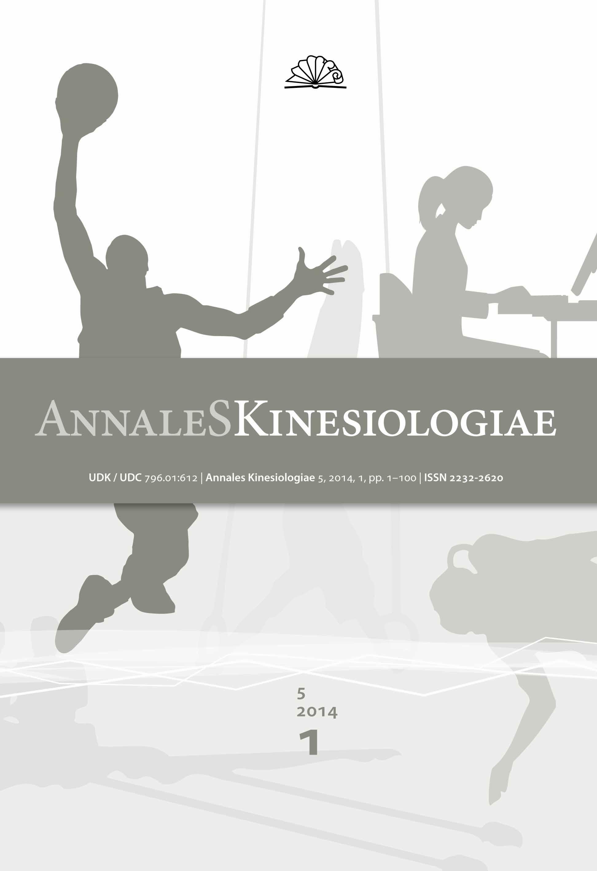 Annales Kinesiologiae 2014