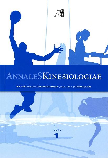 Annales Kinesiologiae 2010